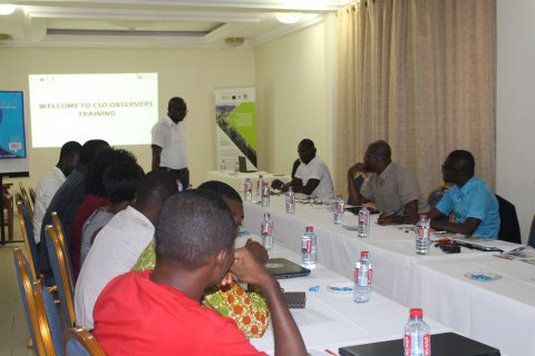CIVIC RESPONSE BEGINS TRAINING FOR CSO OBSERVERS
